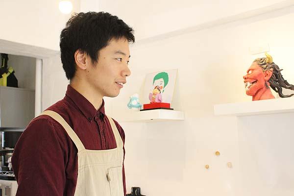 講師の田中勇気さんです。優しく丁寧に生徒さんに教えていらっしゃいました。