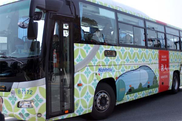 太宰府政庁跡まで西鉄バスで博多バスターミナルから行けます