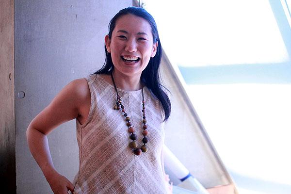 笑顔の素敵なパワー溢れる内田さんです。