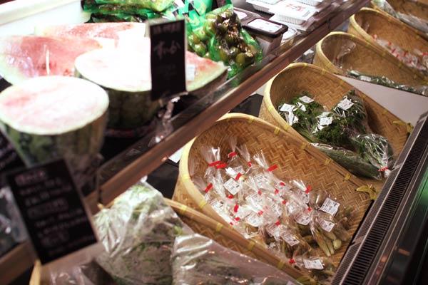 伊都安蔵里の糸島野菜