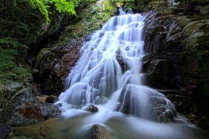 白糸の滝が混み合っていたら、千寿院の滝もおすすめ♪