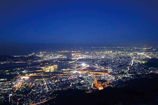 皿倉山(さらくらやま)からの夜景