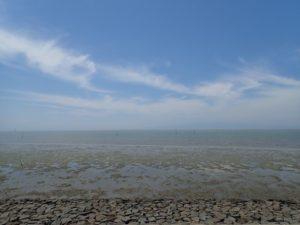 干潮時の有明海