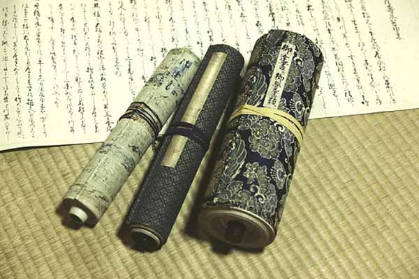 創業から受け継がれている古文書だそうです。