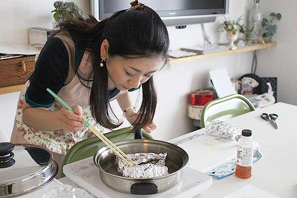 フタを開けて、ふわっと鯛出汁が香る瞬間…!料理をする楽しみが生まれます♪