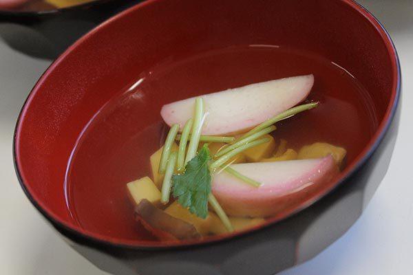 だしスープっ鯛!!レシピ【お吸い物】