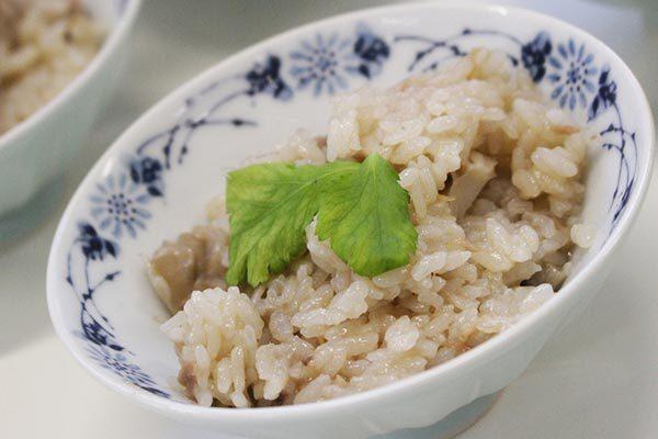 ■だしスープっ鯛!!レシピ【鯛だし炊き込みご飯】