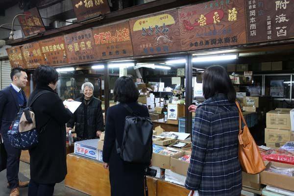 旦過市場は小倉の台所