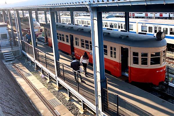 九州鉄道記念館の懐かしい車列達