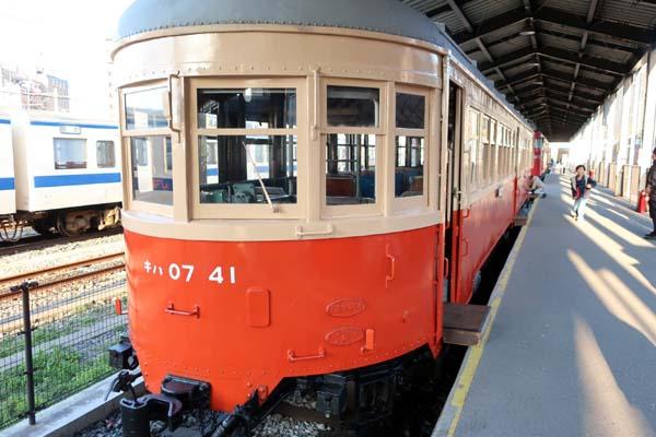 門司港レトロ-九州鉄道記念館懐かしい電車