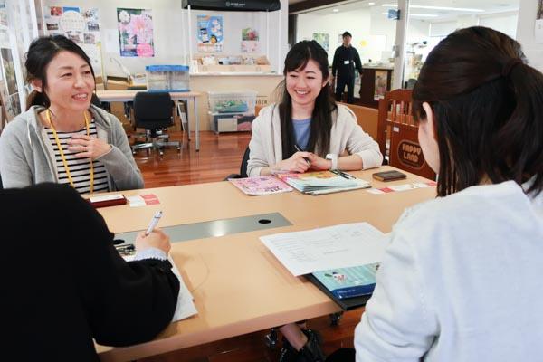 写真左:清水由紀子さん 写真右:松永直子さん