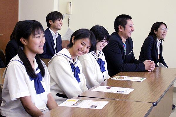 糸島メンマ-タケマン-博多女子高校記者会見