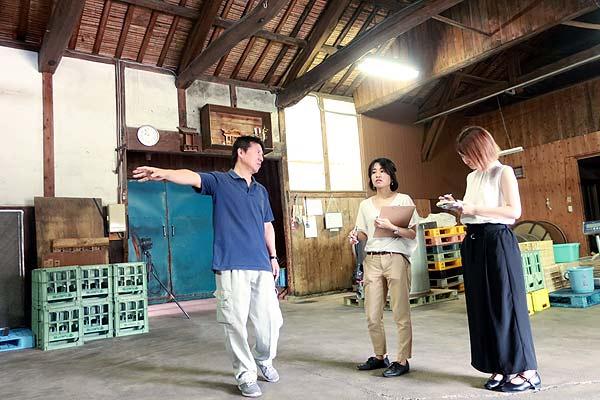 萬代・小林酒造がある福岡県宇美町へ取材