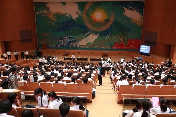 第18回九州地区高等学校生徒商業研究発表大会(2019年8月23日・宮崎市民文化ホール)