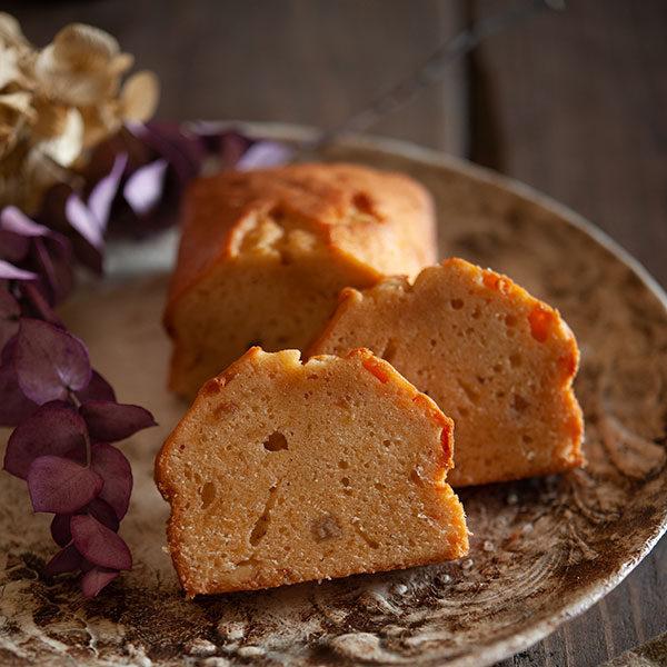 田中製粉レシピはオレンジのバターケーキ