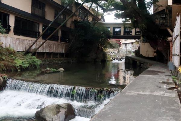 福岡の温泉-脇田温泉遊歩道