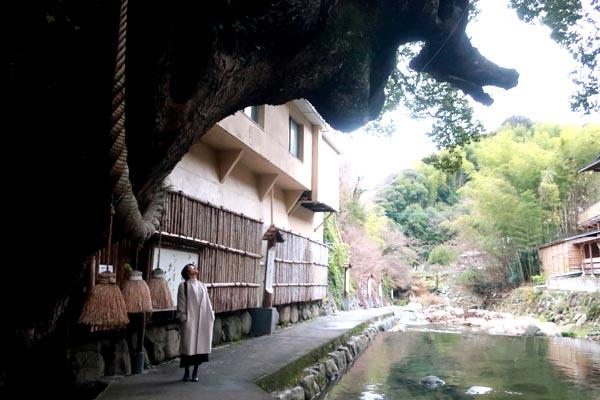 福岡の温泉街-脇田温泉