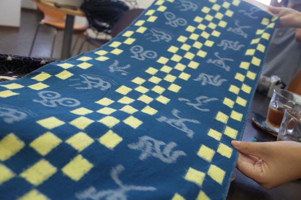 坂田織物の久留米絣