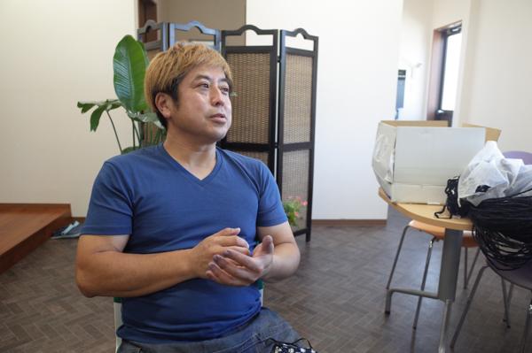 久留米絣坂田織物の坂田和生さん