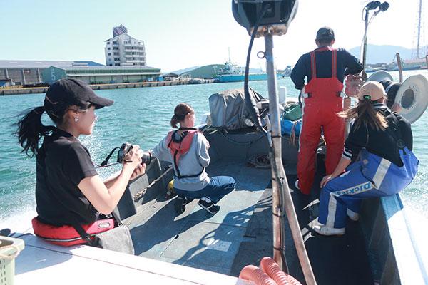 漁師・藤島賢太さんの関門海峡たこ漁に密着取材