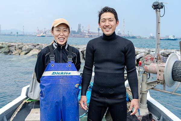 関門海峡たこ漁師の藤島賢太さん