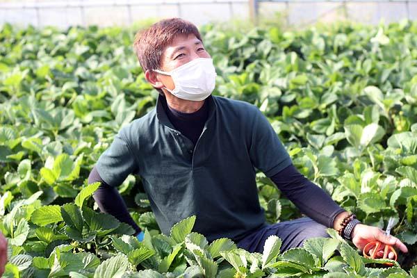 Iターンで福岡へ。新規就農であまおういちごを栽培する彩果農園の油小路さん