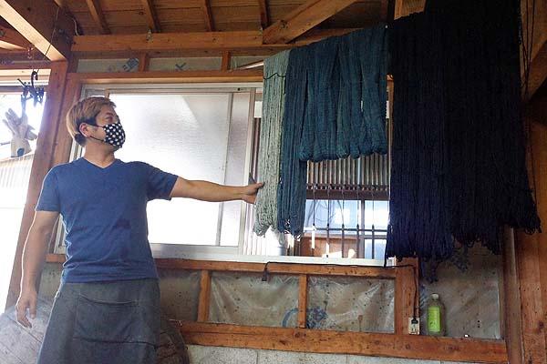 久留米絣の坂田織物