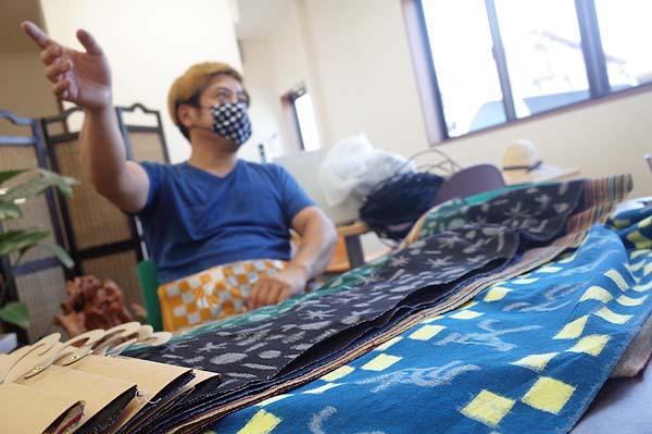 福岡県広川町の伝統的工芸品久留米絣坂田織物